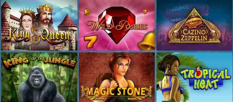 Sunmaker Casino Erfahrungen - Spieleangebot