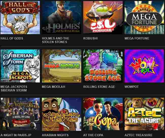 Video Slots Casino Erfahrungen - Spieleangebot