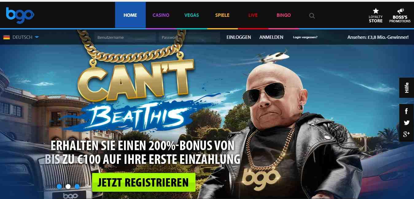 bgo Casino Erfahrungen - Header