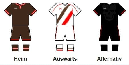 FC St. Pauli Trikot