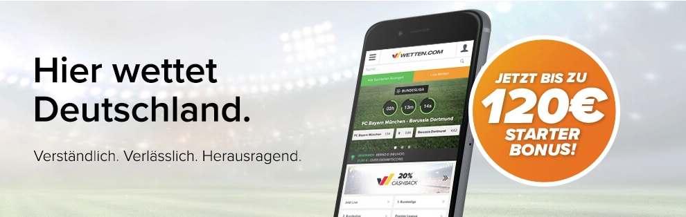 Wetten.com App - Bonus