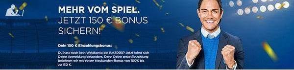 Bet3000Cashout - Bonus