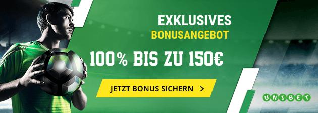 Unibet WM Bonus