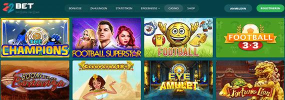 22Bet Sport Casino