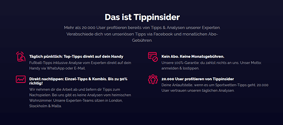 Tippinsider Login
