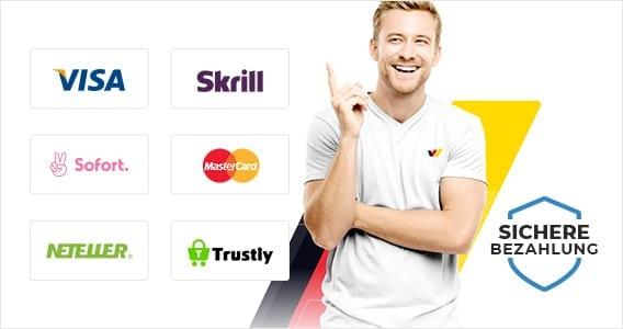 Wetten-com Zahlungen