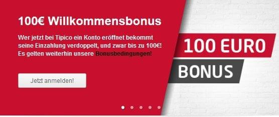 tipico 100 euro bonus erfahrung